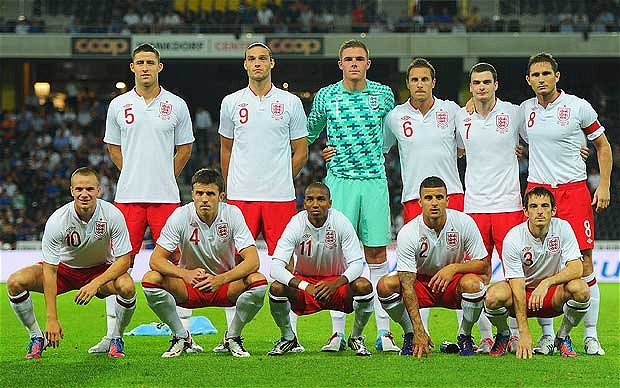 england football team players