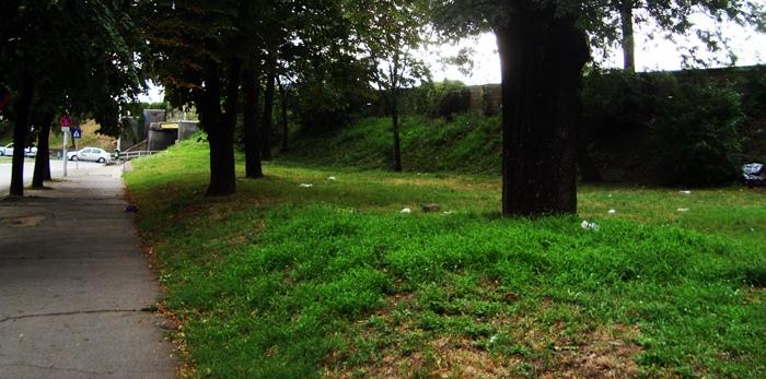 parc timisoara mizerie