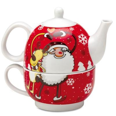 craciun cadou ceainic