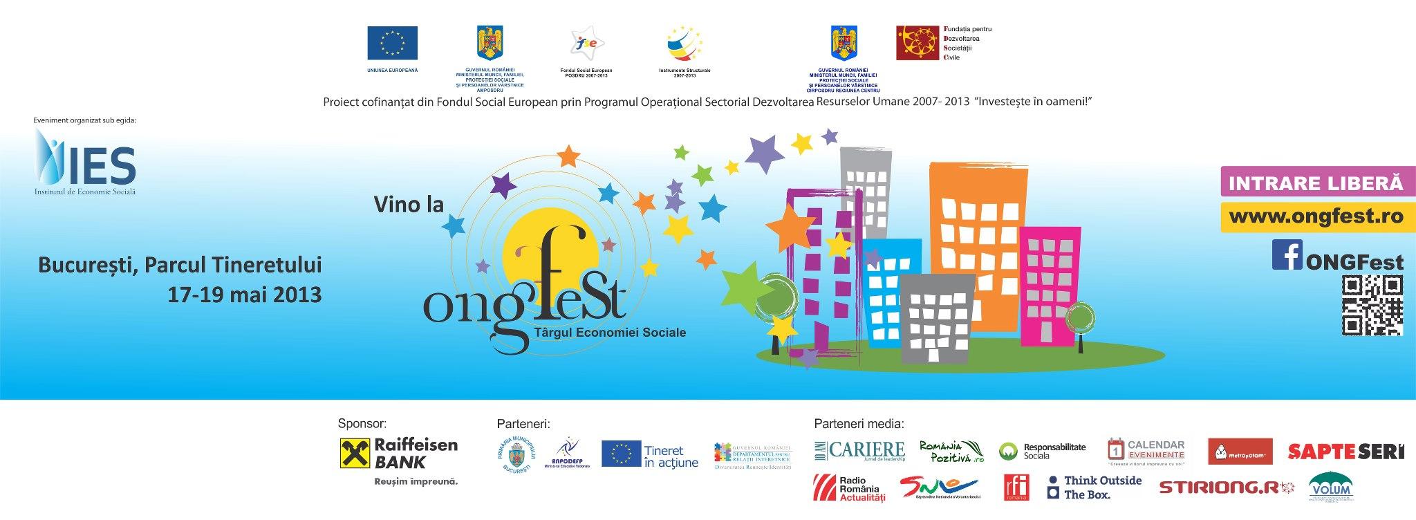 ONG Fest - Targul Economiei Sociale