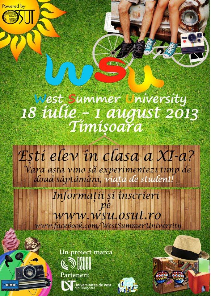 west summer university 2013