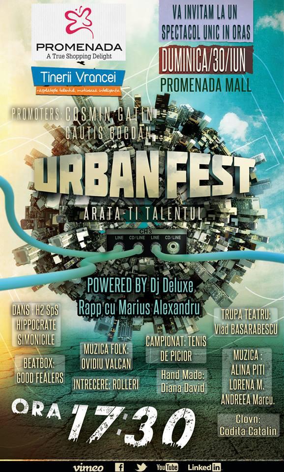 UrbanFest Promenada Mall Focsani