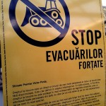 stop forced evictions