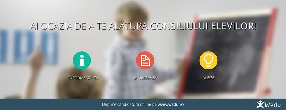 Candidaturi Consiliul Elevilor