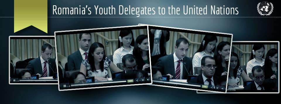 delegatii de tineret ai Romaniei la ONU