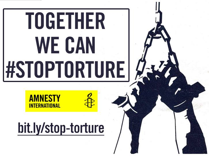 together we can stop torture