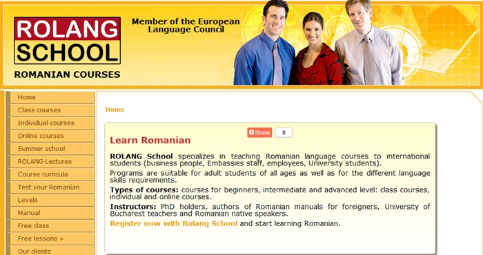 romanian courses for foreigners