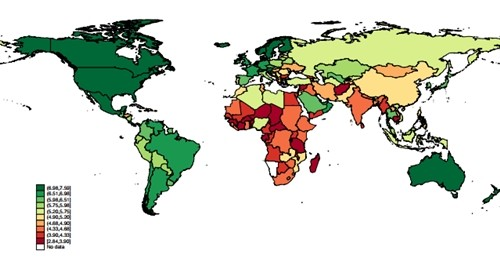 geografia fericirii