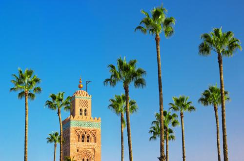 moschee marrakech maroc