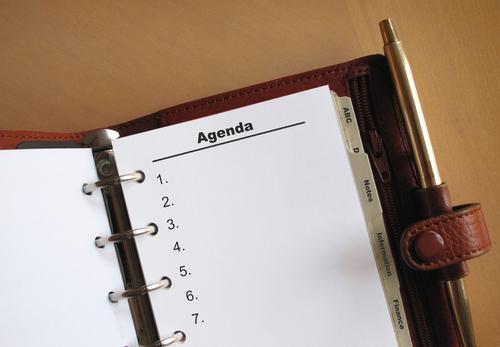 agenda carnet