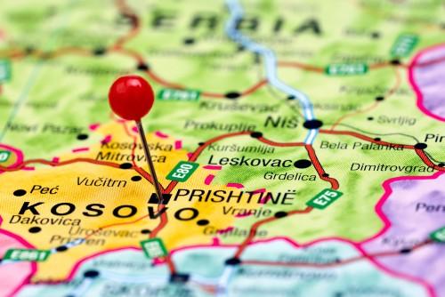harta kosovo