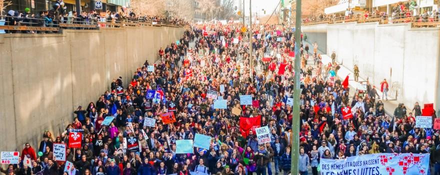 mars protest studenti