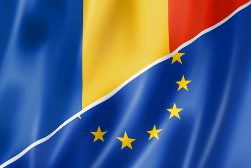 romania eu flag