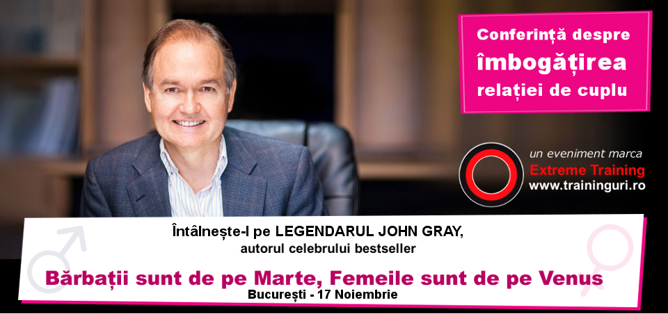 eveniment john gray bucharest