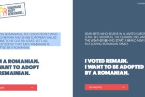 romanii adopta remainianis