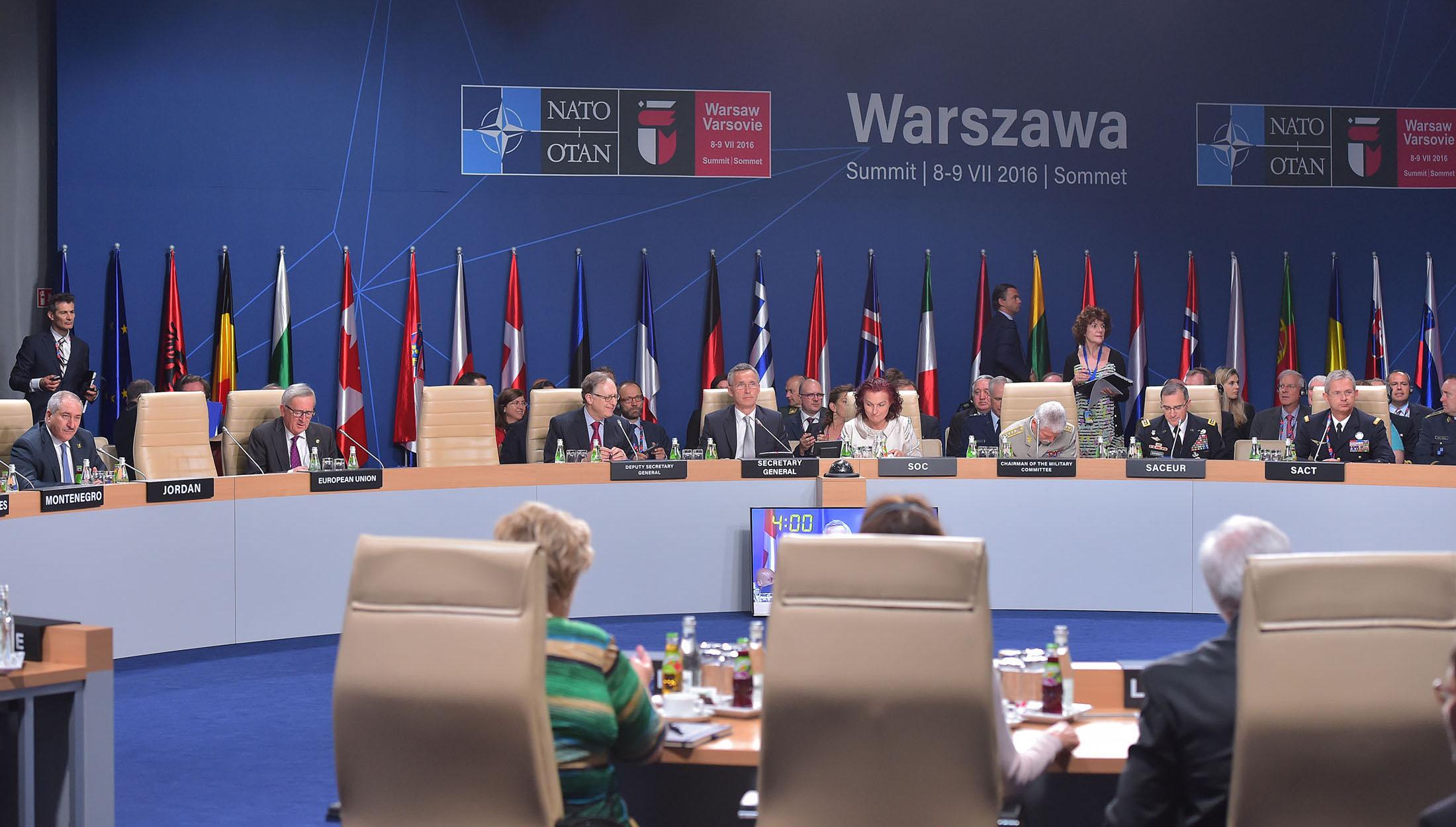 Summitul NATO de la Varsovia