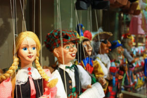 traditional puppets