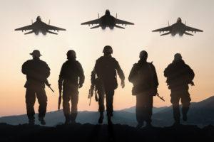 militari apus