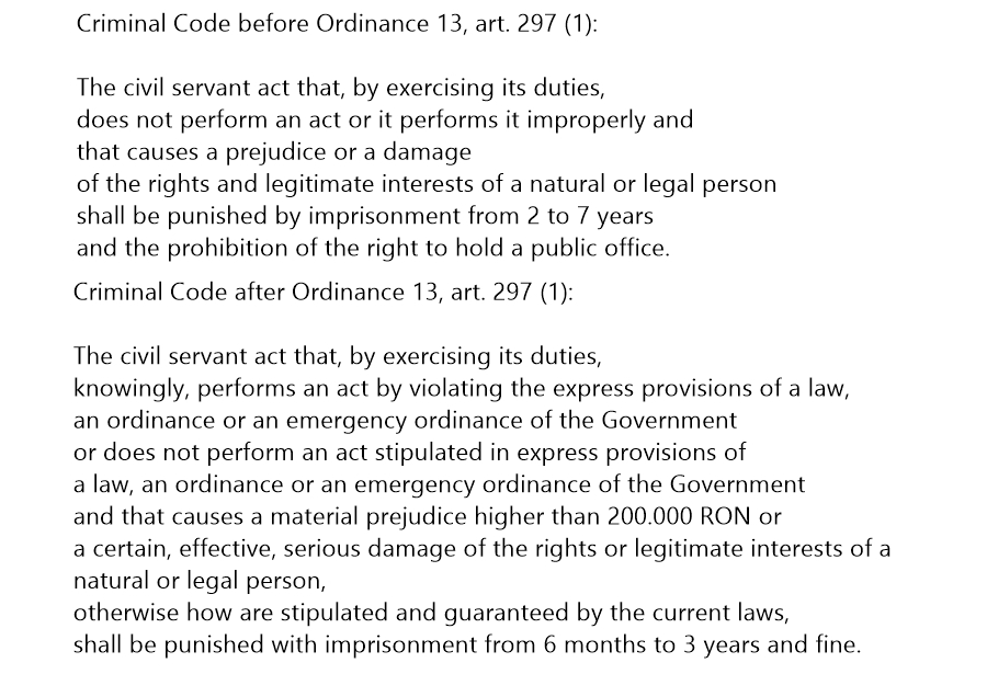 criminal code romania