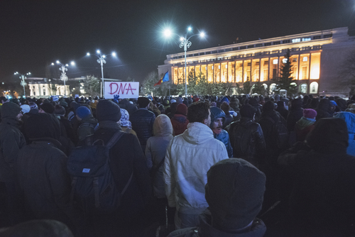 protest bucuresti palatul victoria