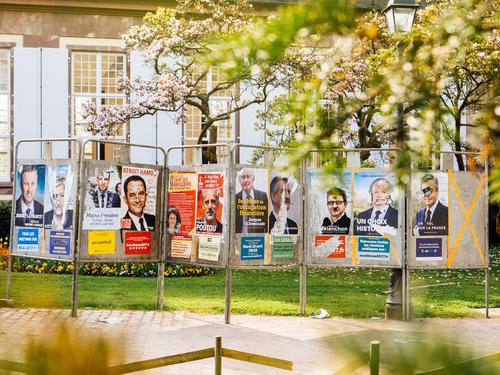 panouri electorale franta