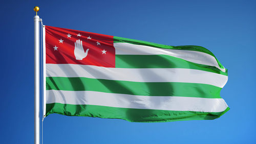 abhazia steag