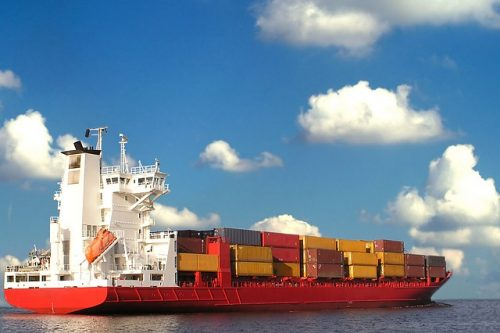 cargo, ship, commerce, trade