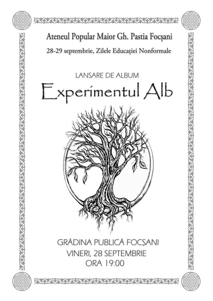 experimentul alb - alexandru lisman
