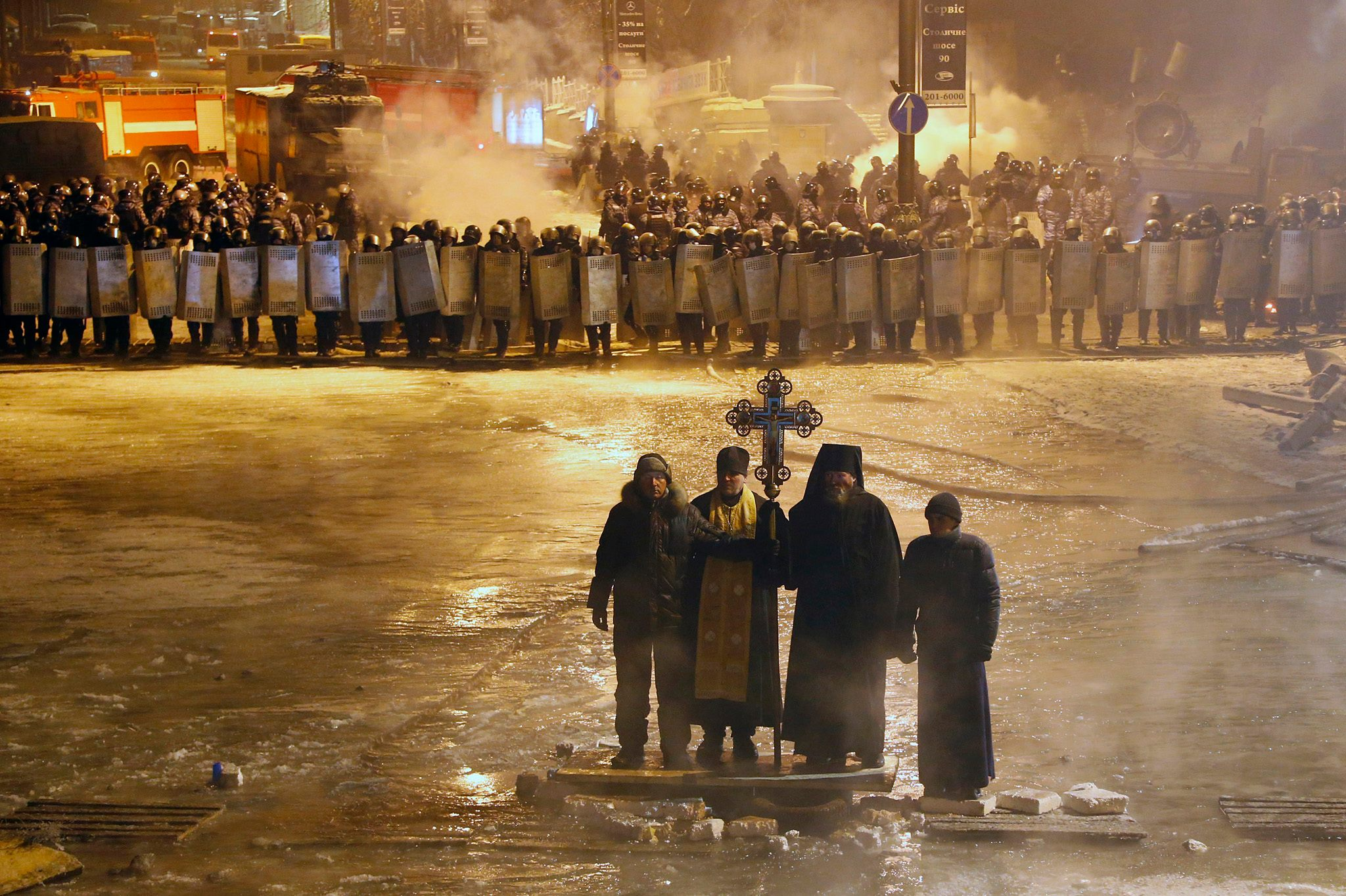 church Ukraine protests