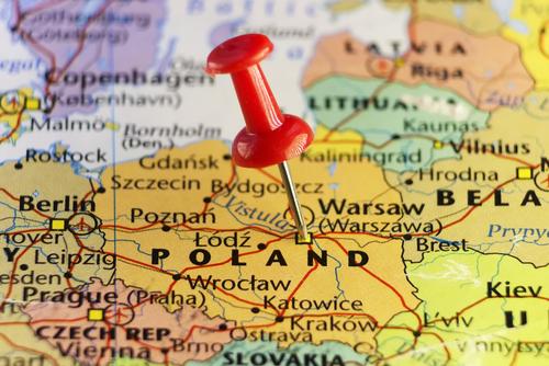 Polonia harta