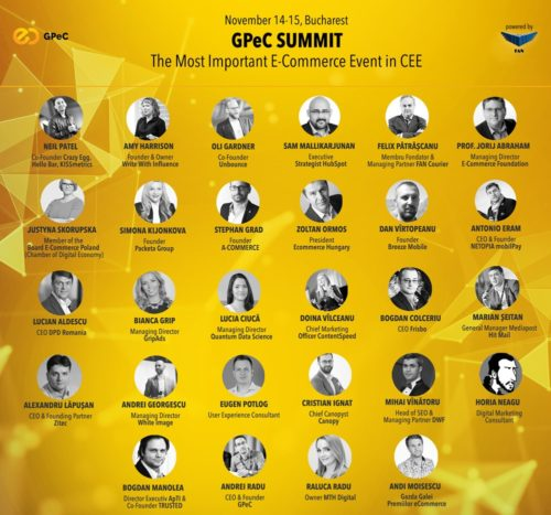 GPeC Summit line-up